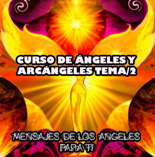 curso de ángeles y arcángeles tema/2