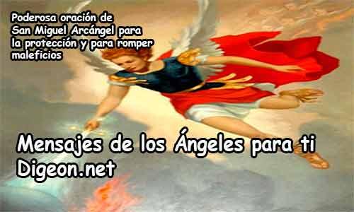 PODEROSA ORACIÓN DE SAN MIGUEL ARCÁNGEL PARA LA PROTECCIÓN Y PARA ROMPER MALEFICIOS