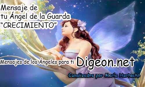 MENSAJE DE TU ÁNGEL DE LA GUARDA - CRECIMIENTO