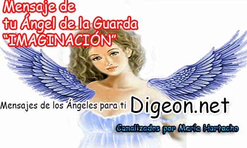 MENSAJE DE TU ÁNGEL DE LA GUARDA - IMAGINACIÓN
