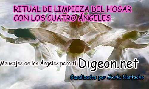 RITUAL DE LIMPIEZA DEL HOGAR CON LOS CUATRO ÁNGELES