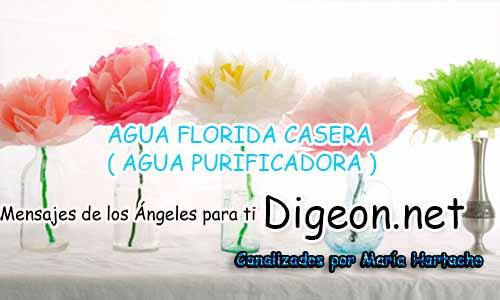 AGUA FLORIDA CASERA ( AGUA PURIFICADORA )