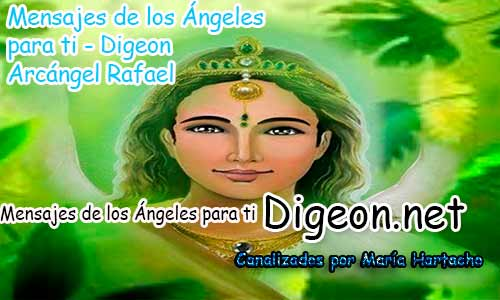 MENSAJES DE LOS ÁNGELES PARA TI - Digeon- Arcángel Rafael - Día 887y Decreto Para la Riqueza + Consejo de tu Ángel para hoy 01/05/2018.