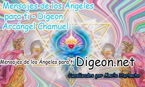MENSAJES DE LOS ÁNGELES PARA TI - Digeon - Arcángel Chamuel - Día 901