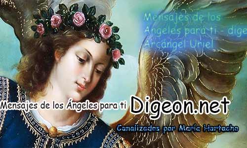 MENSAJES DE LOS ÁNGELES PARA TI - Digeon - Arcángel Uriel - Día 964