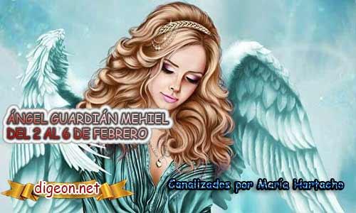ÁNGEL GUARDIÁN MEHIEL. Todo sobre el ángel guardian Mehiel, lo que otorga, el salmo para invocarlo y el mensaje del ángel. Regente Del 2 al 6 de FEBRERO