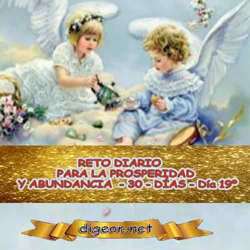 RETO DIARIO PARA LA PROSPERIDAD Y ABUNDANCIA - 30 - DÍAS - Día 19º