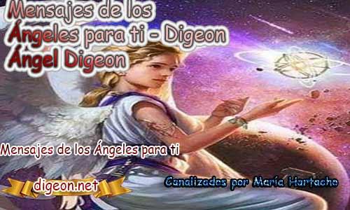 MENSAJES DE LOS ÁNGELES PARA TI - Digeon - 25 de Marzo