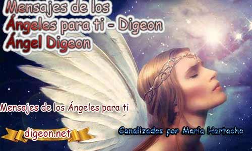 MENSAJES DE LOS ÁNGELES PARA TI - Digeon - 18 de Marzo
