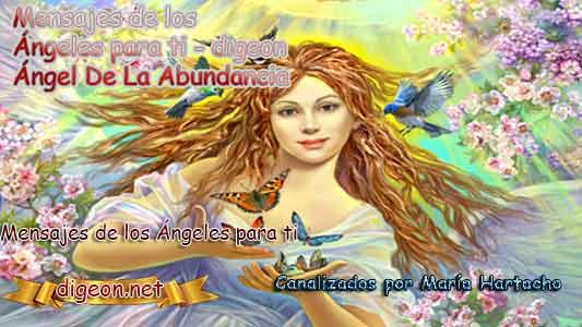 MENSAJES DE LOS ÁNGELES PARA TI - Digeon - 07 de Marzo- Ángel De La Abundancia - Día 1114 + Consejo de tu Ángel y Decreto para la Riqueza y Abundancia