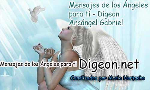 MENSAJES DE LOS ÁNGELES PARA TI - Digeon - 01 de Abril - Arcángel Gabriel - Día 1139 + Consejo de tu Ángel y Decreto para la Riqueza y Abundancia