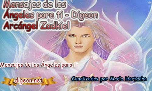 MENSAJES DE LOS ÁNGELES PARA TI - Digeon - 24 de Marzo - Arcángel Zadkiel - Día 1131 + Consejo de tu Ángel y Decreto para la Riqueza y Abundancia