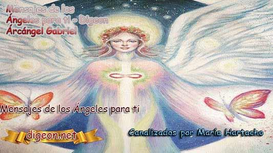 MENSAJES DE LOS ÁNGELES PARA TI - Digeon - 19 de Marzo