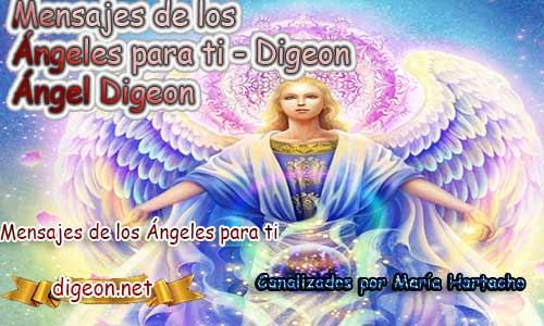 MENSAJES DE LOS ÁNGELES PARA TI - Digeon - 16 de Abril - Ángel Digeon - Día 1154 + Consejo de tu Ángel y Decreto para la Riqueza y Abundancia