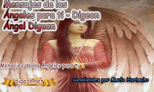 MENSAJES DE LOS ÁNGELES PARA TI - Digeon - 24 de Abril