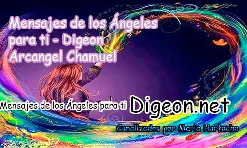 MENSAJES DE LOS ÁNGELES PARA TI - Digeon - 03 de Abril - Arcángel Chamuel - Día 1141 + Consejo de tu Ángel y Decreto para la Riqueza y Abundancia
