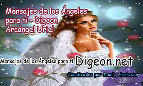 MENSAJES DE LOS ÁNGELES PARA TI - Digeon – 05 de junio - Arcángel Uriel + Consejo de tu Ángel y Decreto para la protección y el consejo diario de los ángeles