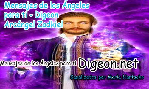MENSAJES DE LOS ÁNGELES PARA TI - Digeon - 23 de Julio - Arcángel Zadkiel - Día 1239 + Consejo de tu Ángel y Decreto para La Abundancia y Riqueza