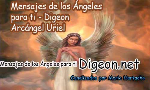 MENSAJES DE LOS ÁNGELES PARA TI - Digeon - 16 de Julio - Arcángel Uriel - Día 1233 + Consejo de tu Ángel y Decreto para La Riqueza y Prosperidad