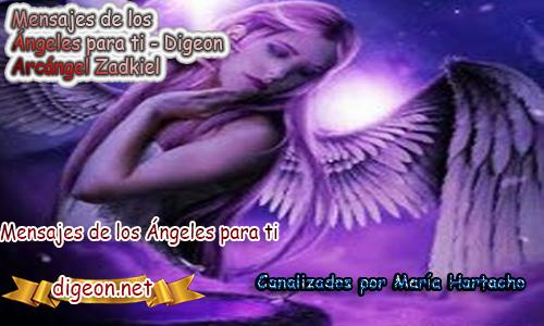 MENSAJES DE LOS ÁNGELES PARA TI - Digeon - 07 de Septiembre - Arcángel Zadkiel - Día 1259 + Consejo de tu Ángel y Decreto para La Transmutación