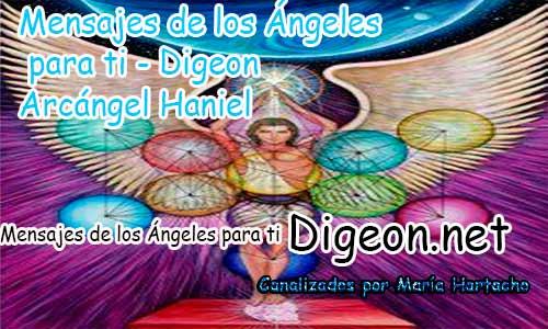 MENSAJES DE LOS ÁNGELES PARA TI - Digeon - 25 de Octubre - Arcángel Haniel - Día 1300 + Consejo de tu Ángel, Decreto para La Riqueza y Abundancia y El Ángel que te acompaña hoy