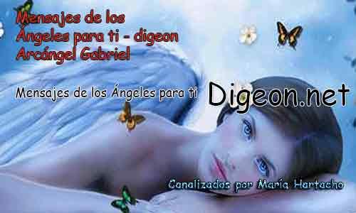 MENSAJES DE LOS ÁNGELES PARA TI - Digeon - 12 de Octubre - Arcángel Gabriel - Día 1289 + Consejo de tu Ángel y Decreto para la Prosperidad y Abundancia