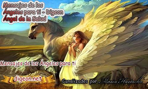 MENSAJES DE LOS ÁNGELES PARA TI - Digeon - 15 de Octubre - Ángel de la Salud - Día 1291 + Consejo de tu Ángel y Decreto para la Prosperidad y Abundancia