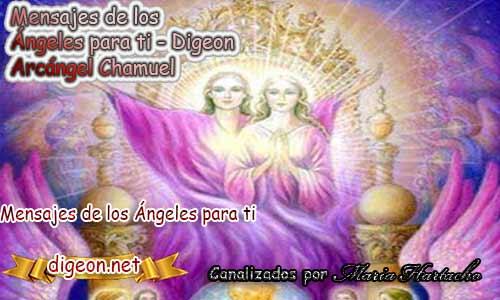 MENSAJES DE LOS ÁNGELES PARA TI - Digeon - 28 de Octubre - Arcángel Chamuel - Día 1302 + Consejo de tu Ángel, Decreto para La Riqueza y Abundancia y El Ángel que te acompaña hoy