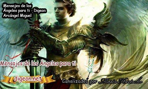 MENSAJES DE LOS ÁNGELES PARA TI - Digeon - 02 de Diciembre - Arcángel Miguel - Día 1330