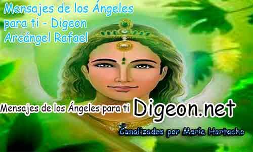 MENSAJES DE LOS ÁNGELES PARA TI - Digeon - 04 de Diciembre - Arcángel Rafael