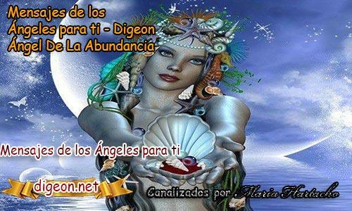 MENSAJES DE LOS ÁNGELES PARA TI - Digeon - 13 de febrero - Ángel DE La Abundancia - Día 1400