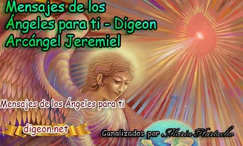 MENSAJES DE LOS ÁNGELES PARA TI - Digeon - 19 de Junio - Arcángel Jeremiel - Día 1528 + Consejo De Tu Ángel, Decreto Para Tener Paz Interior y El Ángel Que Te Acompaña Hoy