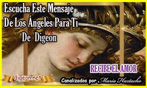 """MENSAJES DE LOS ÁNGELES PARA TI - Digeon - ARCÁNGEL JOFIEL """"RECIBE EL AMOR"""" 22/07/2021"""