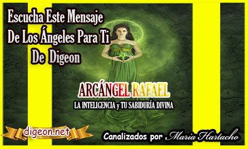 """MENSAJES DE LOS ÁNGELES PARA TI - Digeon - ARCÁNGEL RAFAEL """" LA INTELIGENCIA """" TU SABIDURÍA DIVINA"""