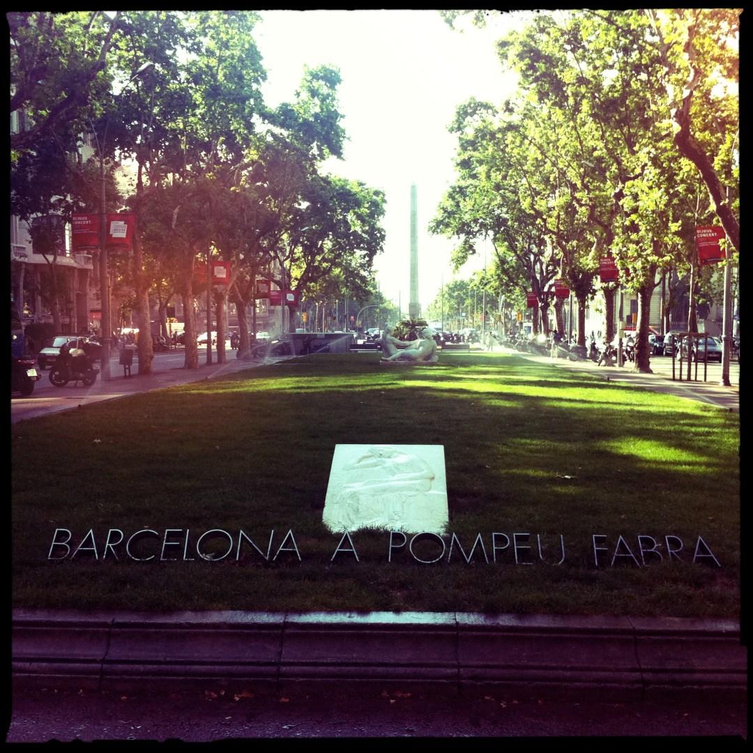 Barcelona a pompeu fabra fotofrafía