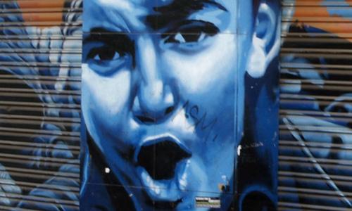 Arte Urbano Tizne, Barcelona, Digerible