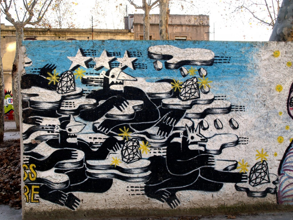 Arte Urbano, Barcelona, Digerible