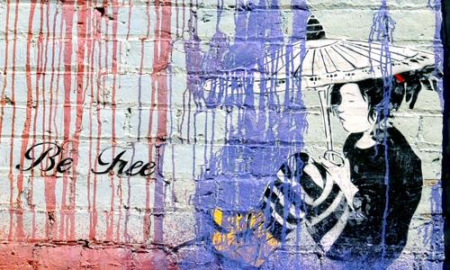 Arte Urbano, Be Free, New Zealand, Digerible