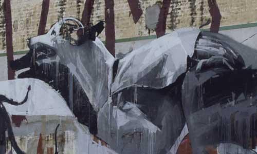 Arte urbano 400kunstler, Barcelona, digerible