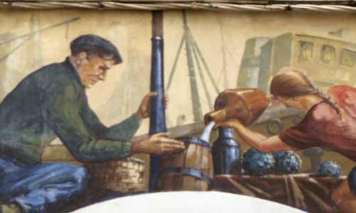 Arte urbano Cantabria, Castro Urdiales, digerible