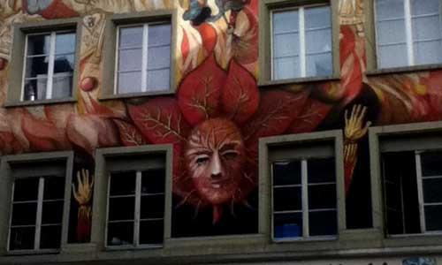 arte urbano Suiza, digerible