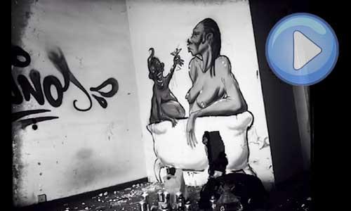 Simón Vázquez , arte urbano, digerible