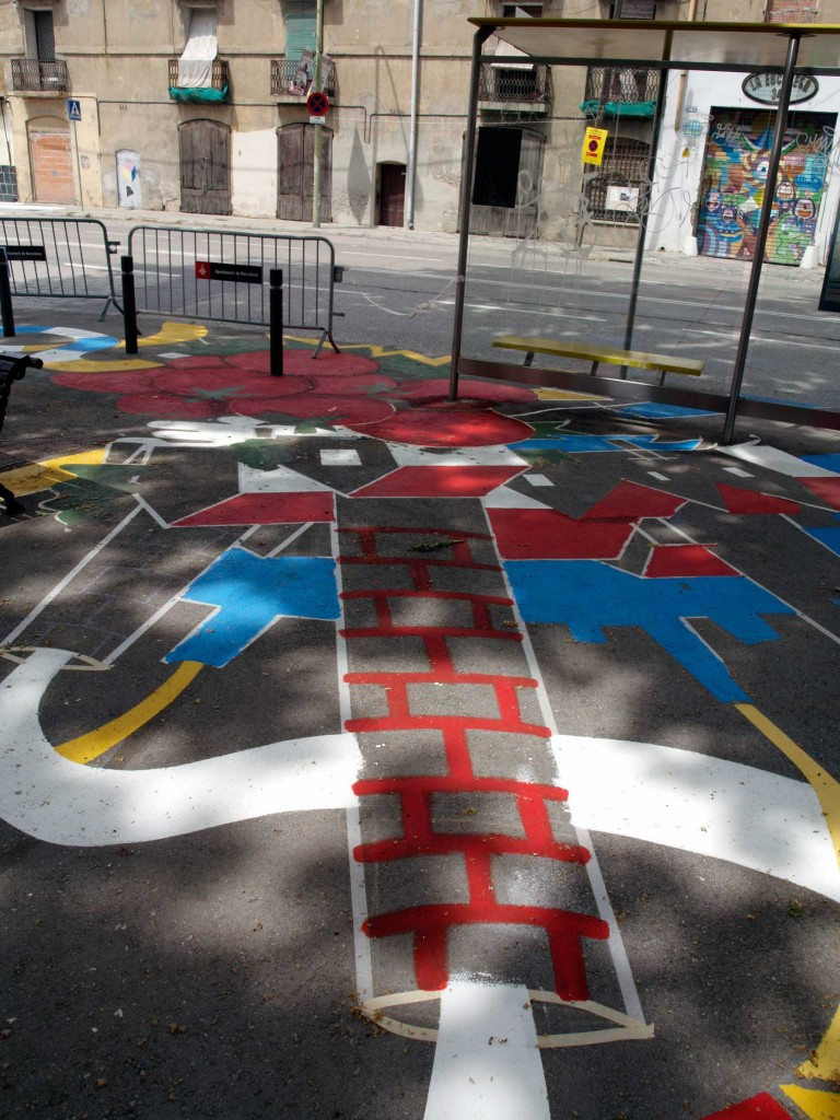 Ùs barcelona, arte urbano, digerible