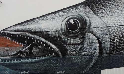 Phlegm, arte urbano, Nueva Zelanda, digerible