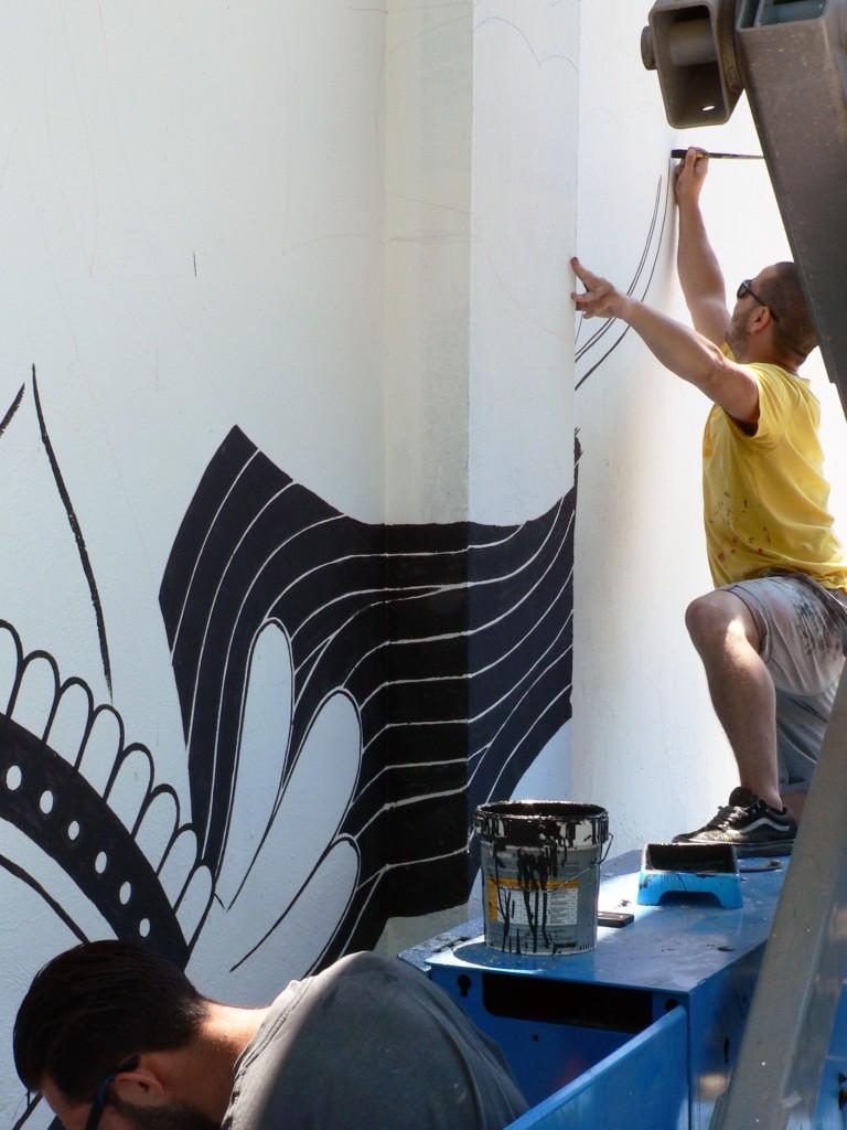 boamistura en Barcelona, Arte urbano, digeribel