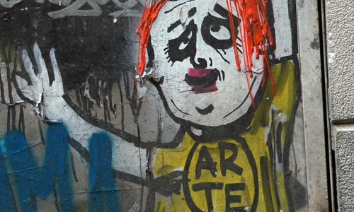 Arte urbano, ART is TRASH, Barcelona, digeribleArte urbano, ART is TRASH, Barcelona, digerible