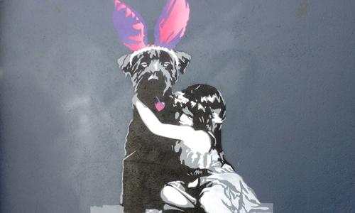 Afk, arte urbano en Noruega, digerible