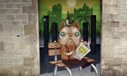 Kram, arte urbano Barcelona