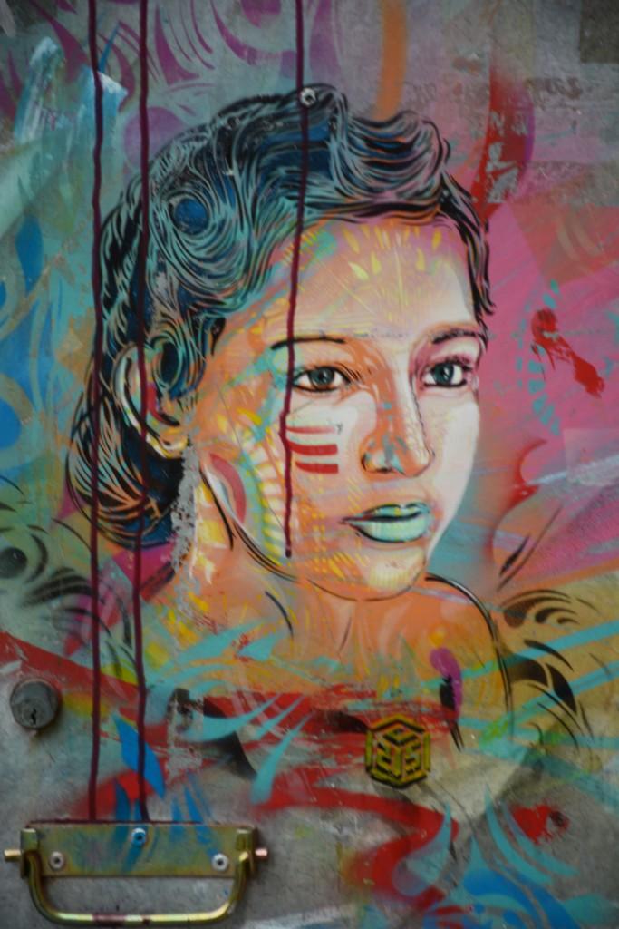 C215, arte urbano en Tudela España