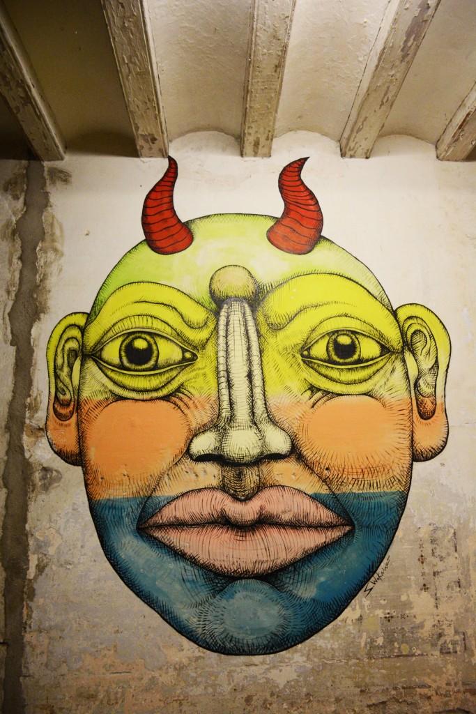 Sebastien Waknine y Simón Vázquez Arte urbano Barcelona, digerible